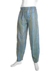 Hippy Trousers~Ethnic Unisex Stripey Overdyed Trousers~Fair Trade By Folio Gothic Hippy~NTR1